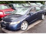 2007 Royal Blue Pearl Honda Civic EX Sedan #12507656