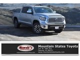 2018 Silver Sky Metallic Toyota Tundra Limited CrewMax 4x4 #125683615