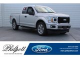 2018 Ingot Silver Ford F150 XL SuperCab #125683751