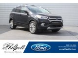 2018 Shadow Black Ford Escape Titanium 4WD #125710717