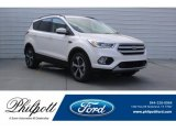 2018 White Platinum Ford Escape SEL #125710716