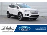 2018 White Platinum Ford Escape SEL #125710715