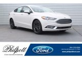 2018 White Platinum Ford Fusion SE #125710713
