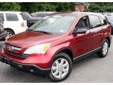 2007 Tango Red Pearl Honda CR-V EX 4WD #12507660