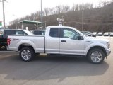 2018 Ingot Silver Ford F150 XL SuperCab 4x4 #125710696