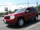 2006 Inferno Red Crystal Pearl Jeep Grand Cherokee Laredo 4x4 #12500774