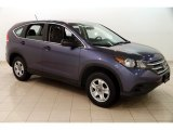 2012 Twilight Blue Metallic Honda CR-V LX 4WD #125754926