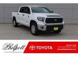 2018 Super White Toyota Tundra SR5 CrewMax 4x4 #125754847