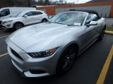 2017 Ingot Silver Ford Mustang EcoBoost Premium Convertible #125775128