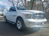 2014 Bright White Ram 1500 SLT Quad Cab 4x4 #125800388