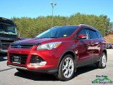 2015 Sunset Metallic Ford Escape Titanium 4WD #125800366
