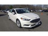 2018 White Platinum Ford Fusion SE #125800494