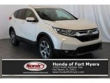 2018 White Diamond Pearl Honda CR-V EX #125810747