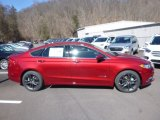 2018 Ruby Red Ford Fusion Hybrid SE #125814464