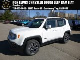 2018 Alpine White Jeep Renegade Limited 4x4 #125814375