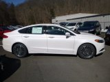 2018 White Platinum Ford Fusion SE #125814461