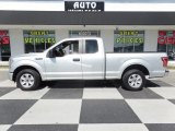 2015 Ingot Silver Metallic Ford F150 XL SuperCab #125814500