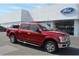 2018 Ruby Red Ford F150 XLT SuperCrew #125814395