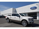 2018 White Platinum Ford F150 King Ranch SuperCrew 4x4 #125814394