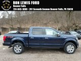 2018 Blue Jeans Ford F150 Platinum SuperCrew 4x4 #125835918