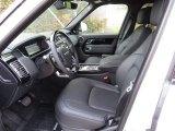 2018 Land Rover Range Rover HSE Ebony Interior