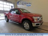 2018 Ruby Red Ford F150 XLT SuperCrew 4x4 #125835936