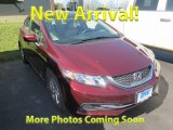 2015 Rallye Red Honda Civic LX Sedan #125836027