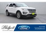 2017 White Platinum Ford Explorer Limited #125835986