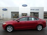 2018 Ruby Red Ford Fusion SE #125861990