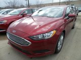 2018 Ruby Red Ford Fusion SE #125861899