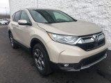2018 Sandstorm Metallic Honda CR-V EX-L AWD #125861689
