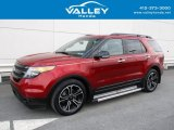 2014 Ruby Red Ford Explorer Sport 4WD #125889573