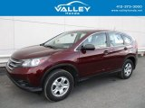 2012 Basque Red Pearl II Honda CR-V LX 4WD #125889572