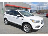 2018 Oxford White Ford Escape SE 4WD #125889704