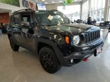 2018 Black Jeep Renegade Trailhawk 4x4 #125902619