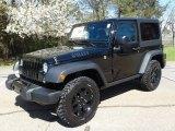 2018 Jeep Wrangler Black