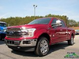 2018 Ruby Red Ford F150 King Ranch SuperCrew 4x4 #125915073