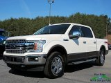 2018 White Platinum Ford F150 Lariat SuperCrew 4x4 #125915071