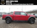 2018 Ruby Red Ford F150 SVT Raptor SuperCrew 4x4 #125902647
