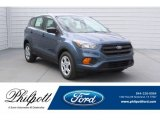 2018 Blue Metallic Ford Escape S #125902719