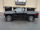 2014 Black Chevrolet Silverado 1500 WT Regular Cab 4x4 #125960673