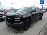 Black Chevrolet Silverado 1500 in 2018
