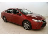 2015 Ruby Flare Pearl Toyota Camry SE #125960590