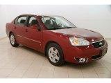 2007 Sport Red Metallic Chevrolet Malibu LT Sedan #125960588