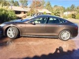 2013 Brown Metallic Tesla Model S  #125979863