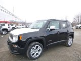 2018 Black Jeep Renegade Limited 4x4 #125980002