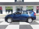 2016 Obsidian Blue Pearl Honda CR-V EX #125980052