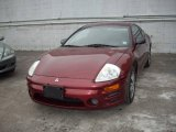 2003 Ultra Red Pearl Mitsubishi Eclipse GS Coupe #12591968