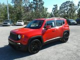 2018 Colorado Red Jeep Renegade Altitude #126005117
