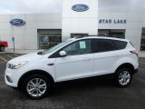 2018 Oxford White Ford Escape SEL 4WD #126005158